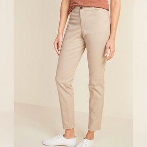 Old Navy Mid-Rise Skinny Everyday Khakis